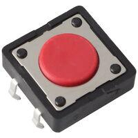5 Diptronics DTS-21R-V Mini-Taster 12V 50mA 1xEIN 2,6N 12x4,3mm liegend 855623