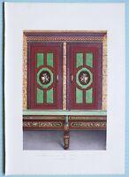 Grande 1862 Exhibition Stampa Smaltato Ardesia Muro & Tavolo Da Magnus