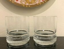 Ralph Lauren Broughton Double Old Fashioned Glasses Set of 2