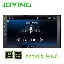 "Joying 7"" Android 6.0.1 Car Radio SD MP3 MP4 Player GPS Navi Head Unit"