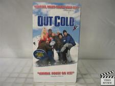 Out Cold VHS NEW Jason London, Zach Galifianakis