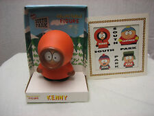 South Park Kenny Collectable Figure 1998 + Picture & Frame NEW NIP NIB RARE
