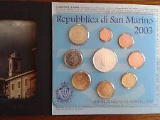 saint-marin bu 2003 + pièce de 5 euros