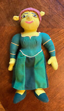 "Nanco Dreamworks Shrek Princess Fiona Plush Doll Toy Stuffed Toy 10"" 2004 Read"