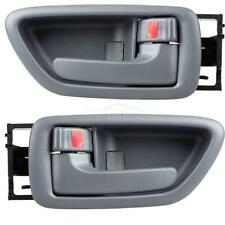 Both 2 For Toyota Sequoia 01-07 Gray Interior Rear Left Right LH RH Door Handle