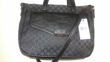 NINE WEST BLACK SATCHEL/CROSSBODY SLING BAG PURSE