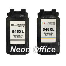 PG-545XL Black & CL-546XL Colour Ink Cartridge For Canon PIXMA MG2550S Printer
