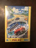 Outrun Japan Sega Mega Drive game Out Run