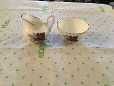 Small miniature pitcher and bowl set Grosvenor Bone China made in England