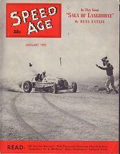 Speed Age Magazine January 1951 Roger Huntington Russ Catlin 080217nonjhe