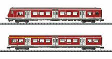 Minitrix 15890 S-Bahn Personenwagen-Set 2 teilig DB Ep.VI Digital DCC Spur N NEU