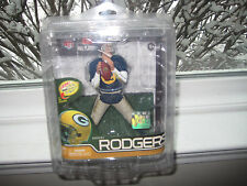 MCFARLANE NFL 29 AARON RODGERS SILVER COLLECTOR LEVEL CHASE VARIANT #501/1000