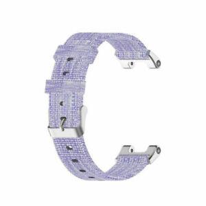 25.8mm Nylon Canvas Watch Band Wrist Strap for Amazfit T-Rex Pro/Amazfit T-Rex
