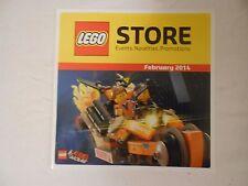 Lego Store Newsletter 2/14