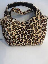 Atalla Leopard Hobo Genuine Leather Large