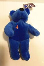 "'99 Robin Ventura #4 Salvino's Baby Bammers 6 1/2"" Tall Plush Bean Bear"