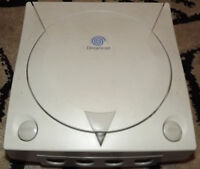 Sega Dreamcast White Console - Multi Region BIOS