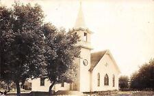 Alden, Boyden, Glidden, Haywarden, Lowden, Meriden, or Woden IA RPPC Church 1915