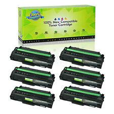 6PK Black MLT-D105L Toner Cartridge For Samsung 105L SCX-4600 SCX-4623F 4623FN