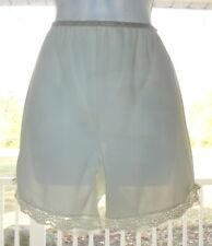 "Vintage Ivory Pillowtab Nylon Lace Petti Panties Tap Sz S/M 28""W"