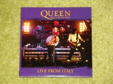 QUEEN + PAUL RODGERS Live From Italy - RARE 2005 USA PROMO CD IN CARD SLEEVE