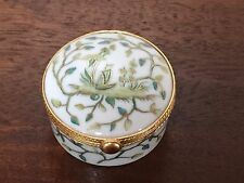 Tiffany & Co Le Tallec Porcelain SIAM CAMAICU VERT Trinket Box Limoges France