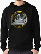 Harley Sportster Retro Motorcycle engine Sweatshirt, Hoodie INISHED Production