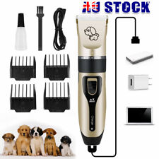 Professional Pet Dog Cat Clippers Grooming Electric USB Rechargeable Trimmer Kit