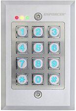 SECO-LARM SK-1123-FDQ 12/24V Vandal Resistant Flush-Mount Access Control Keypad