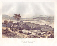 Ephesus from the South, An Antique Chromo-lithograph, 1869