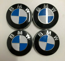 4 x Originale BMW Nabendeckel Felgendeckel Nabenkappen Felgenkappen 68mm M Neu