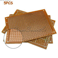 [5PCS] DIY Prototyping PCB Circuit Board Bakelite Prototype Breadboard Kit 5x7cm