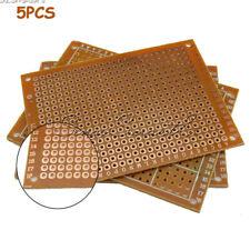 [5PCS] DIY Prototyping PCB Circuit Board Bakelite Prototype Breadboard Kit 5x7cm