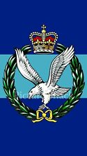 ARMY AIR CORPS CAP BADGE PRINTED ON A METAL SIGN 5 x 7 INCHES.