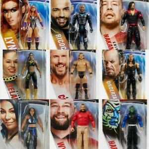 WWE Basic Wrestling figures brand new/sealed Mattel toys