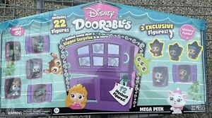 Brand New Disney Doorables SERIES 5 Mega Peek 22 Total / 12 Mystery Figures