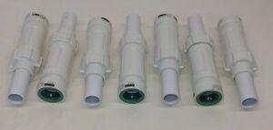 "Lot of 7 NEW Orbit 37783 PVC-Lock 3/4"" Slide Repair Fitting Irrigation sprinkler"