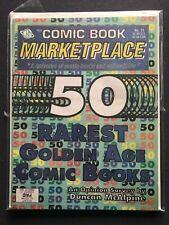 COMIC BOOK MARKETPLACE 11 NM- 1 LOT HIGHER GRADE CBM 50 RAREST GOLDEN AGE COMICS