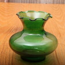 Green Glass Candle Holder Votive