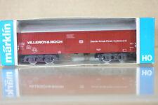 MARKLIN Märklin 4460 DB VILLEROY & BOCH Kristall wagons de marchandises 669-4 NC