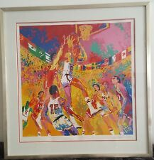 "LEROY NEIMAN ""BASKETBALL"" SERIGRAPH HAND SIGNED IN PENCIL + ARTIST PROOF"