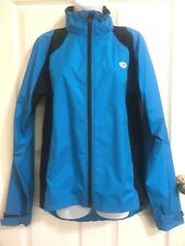 Pearl Izumi Jacket Coat Cycling Bicycle Blue Full Zip Athletic