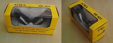 AIWA HR-S01 Headphones Radio FM/AM made in Japan Unique in these condition Rare