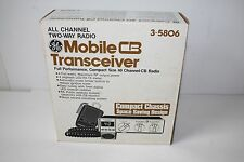 General Electric Mobile CB Transceiver 40 Channel # 3-5806 NEWIN BOX NOS