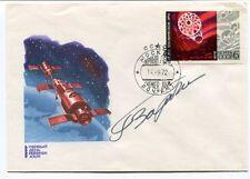 1972 Mockba CCCP Premier Jour SPACE NASA SAT SIGNED