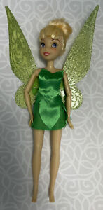 Disney Store Exclusive Tinkerbell Doll with Flutter Wings Posable