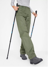 Bonprix Khaki Green Water Repellent Thermal Trousers Pants Plus Size 28 NEW