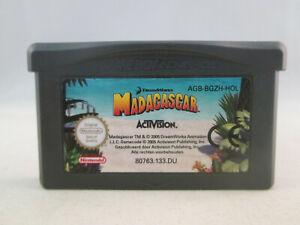 Nintendo Gameboy Advance GBA - Madagascar