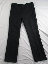 Wrangler USA 82BK Sta Prest Pants Tag 40x34 Measure 40x34 Polyester Dress Slacks
