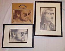 Elton John Honky Chateau Record LP33 1972 with Elton John and Bernie Taupin pics